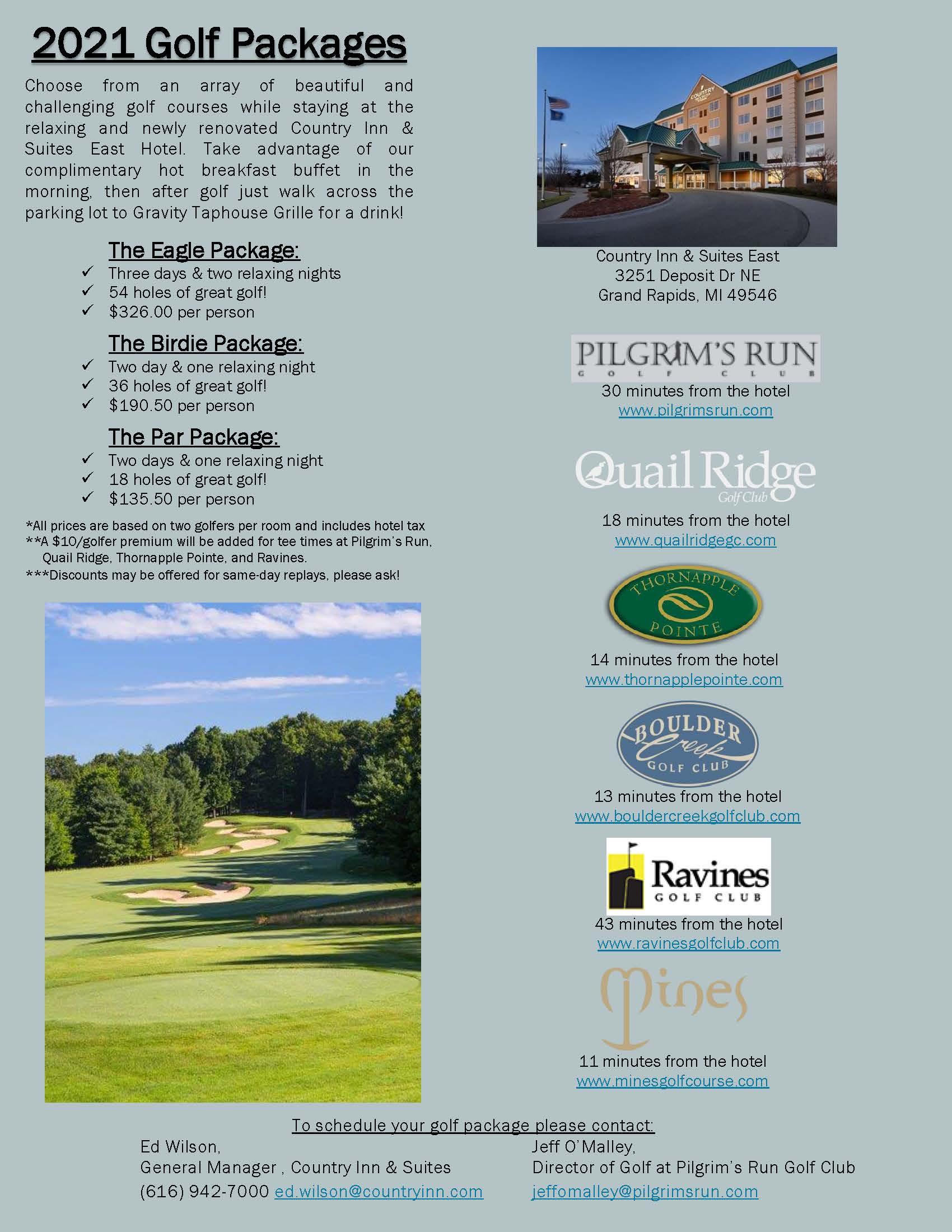 2021 Golf Flyer Country Inn East